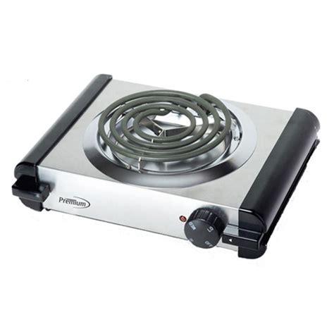 Burner Electic premium appliances single electric burner deluxe