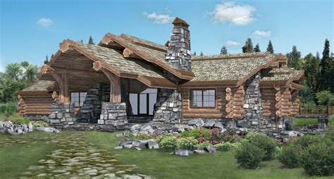 Handcrafted Log Cabins - handcrafted log homes cabins canadian chalet bestofhouse