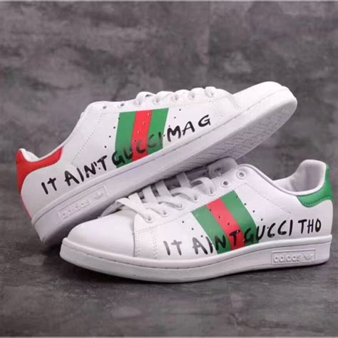 adidas x stan smith x gucci sneaker shoes shopee malaysia