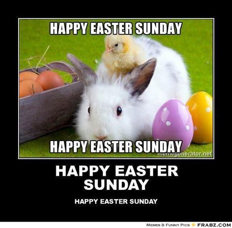 Happy Easter Meme - happy easter sunday meme generator posterizer