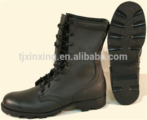 cheap black combat boots cheap black genuine leather combat used boots