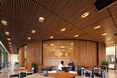Ceiling Baffles by Baffles Total Building Systems