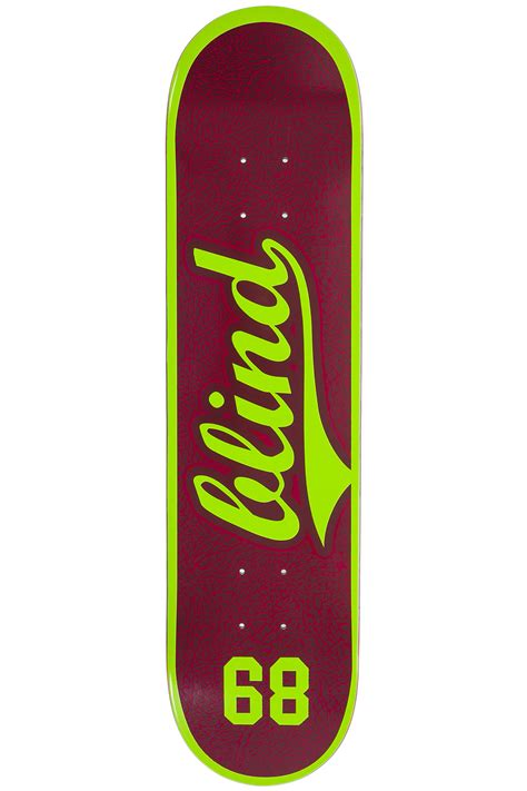 "Blind Team Athletic Skin 7.75"" Deck (plum) buy at skatedeluxe"