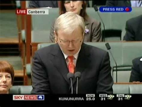Apology Letter Kevin Rudd Kevin Rudd Notice Offering And Apology Parliament 2008