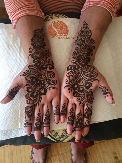 henna tattoo little india toronto simple arabic bridal henna design for a muslim wedding