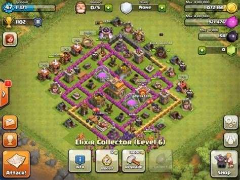 th7 ultimate layout clash of clans top 5 th7 base builds my ideas