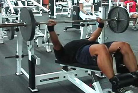 incline bench press results exercise essentials part 7 bench press