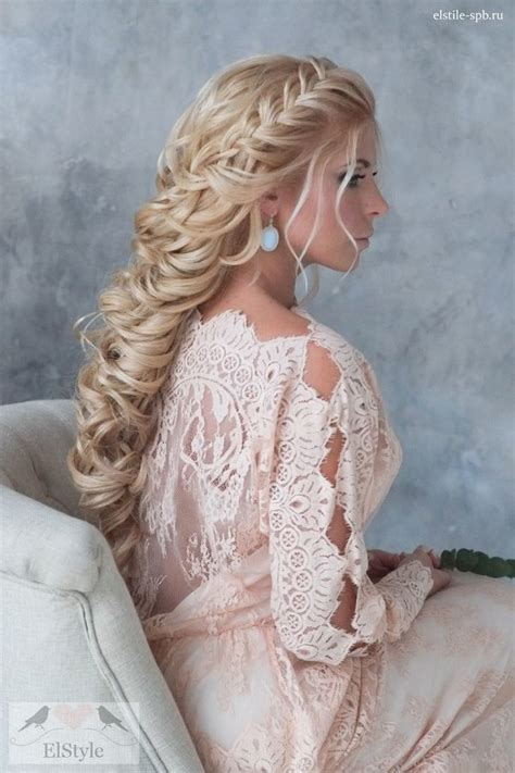 wedding hairstyles for vintage dresses braided bridal hairstyle with vintage