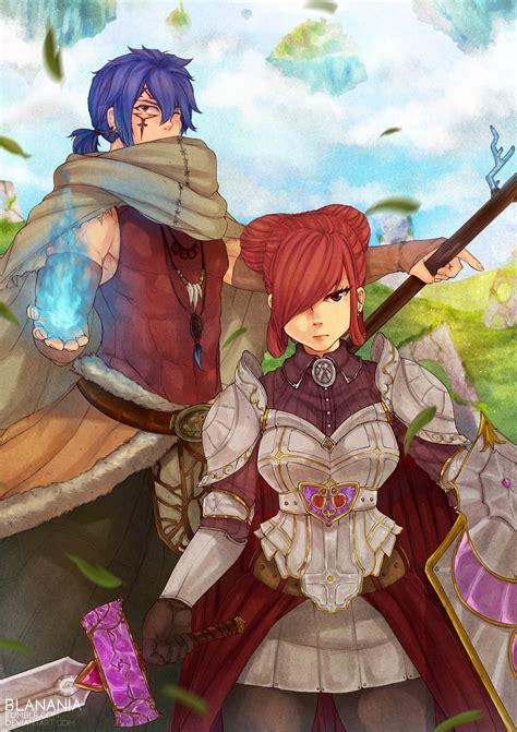 anime series characters fairy tail girl blue hair