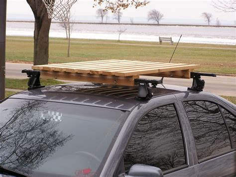 wooden roof rack cing roof rack diy