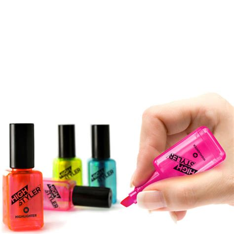 Nail Varnish by High Stylers Nail Varnish Shaped Highlighters Iwoot