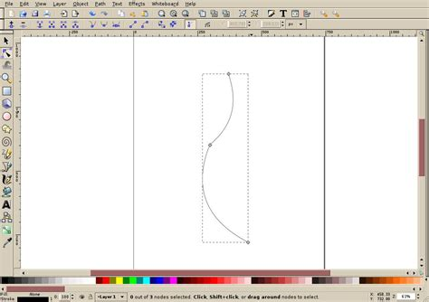 inkscape tutorial bezier curves inkscape tutorial creating a simple ribbon