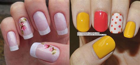 easy nail art spring simple spring nail art designs ideas trends 2014 for learners