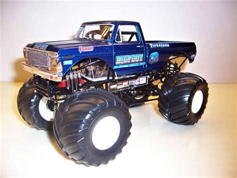 bigfoot monster truck model custom built bigfoot ford model kit monster jam truck