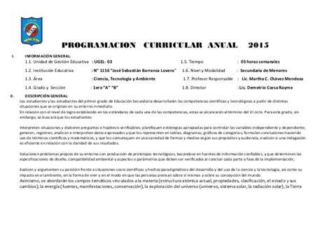 programacin curricular anual de ingles y unidades de jornada escolar completa programacion curricular anual de cta 1 186 ccesa1156