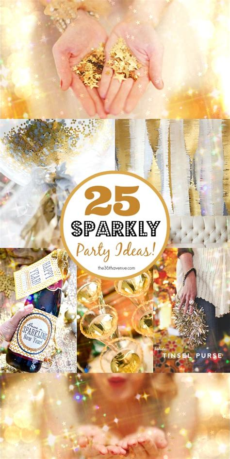 new year ideas 25 diy sparkly ideas new years the 36th avenue