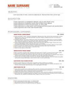 Resume Format For Australia by Cv Templates Australia Http Webdesign14