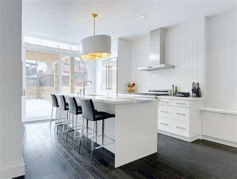 Délicieux Ilot Central Pour Cuisine Ikea #4: meubles-cuisine-ikea-blancs-ilot-central-plans-travail-marbre.jpg