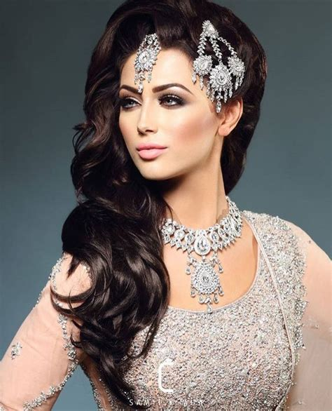indian hairstyles making classy and easy to make walima hairstyle ideas for girls