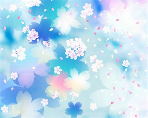 Free Flower Powerpoint Template Wallpapers 1280 X 1024 Blue Flower Powerpoint Backgrounds Hd Free Wallpaper
