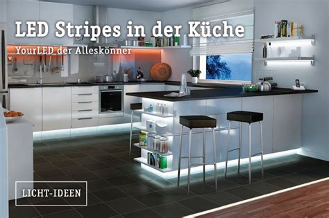 Led Lichtleisten Küche by K 252 Che Beleuchtung Spots