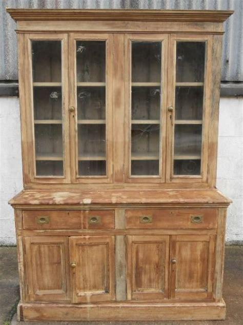 large pine kitchen dresser cabinet 139394