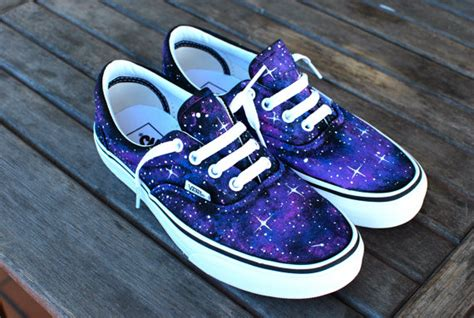 galaxy pattern vans custom galaxy vans era shoes by bstreetshoes on etsy