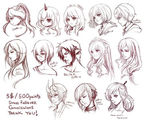 81 best anime hairstyles images on pinterest anime art best 20 anime hairstyles male ideas on pinterest