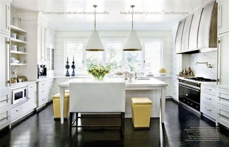 kitchens with white cabinets and dark floors design obsessed what does your kitchen say about you
