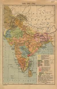 map os 18th century india map india mappery