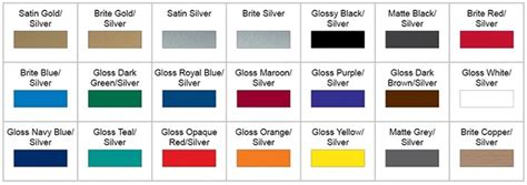 anodized aluminum colors precision engraving inc