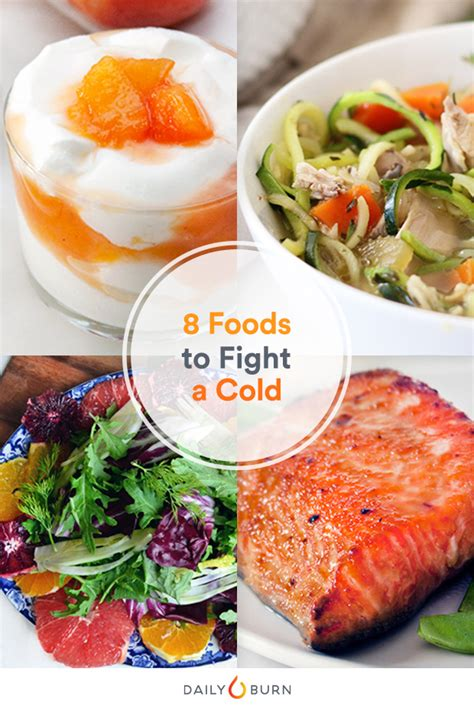 8 Tips To Fight A Cold by 8 Superfoods To Fight The Common Cold By Daily Burn