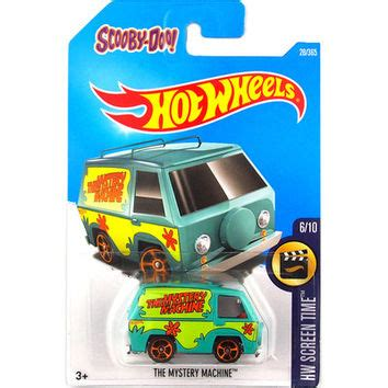Hotwheels Factory Sealed 2017 The Mystery Machine best wheels toys products on wanelo