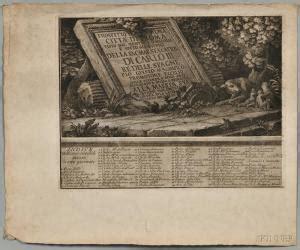giuseppe vasi prices and estimates of works giuseppe vasi