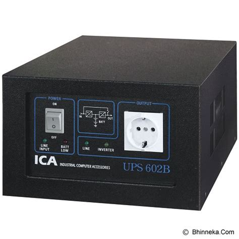 jual ica ups 602b ups power backup stabilizer genset murah