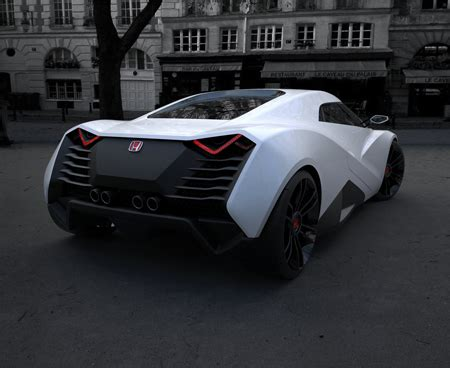 cars honda extreme concept honda ra x two seater concept sportscar tuvie