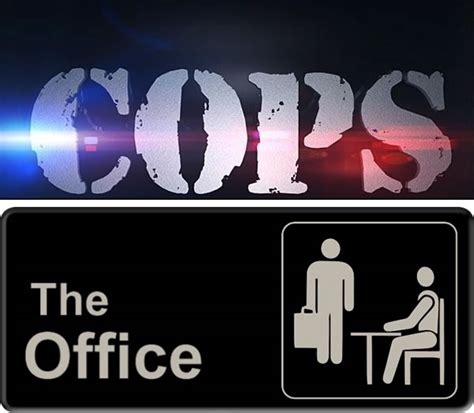 quot cops quot title sequence meet quot the office quot theme the