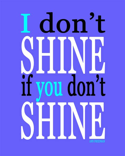 shine quotes on friendship quotesgram