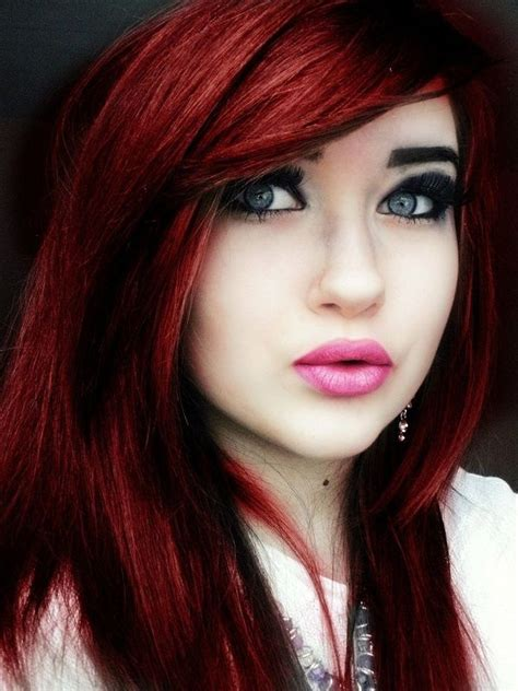 best shade of red 12 best images about hair styles boy girl on pinterest
