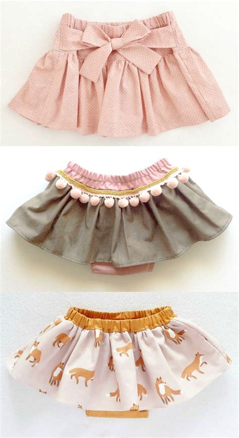 Handmade Clothes Patterns - handmade skirts with bloomers moonroomkids on etsy a