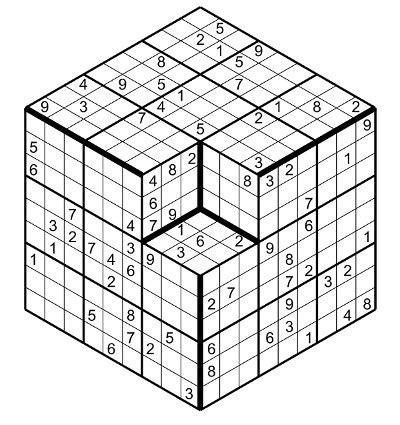 printable sudoku cube rules of sudoku 3 dimensions