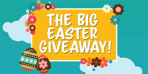 Easter Giveaway - the big easter give away holdcroft heating