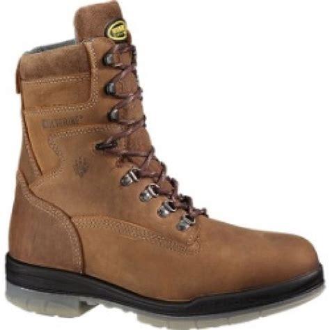 wolverine steel toe boots wolverine s durashocks waterproof steel toe 8 inch