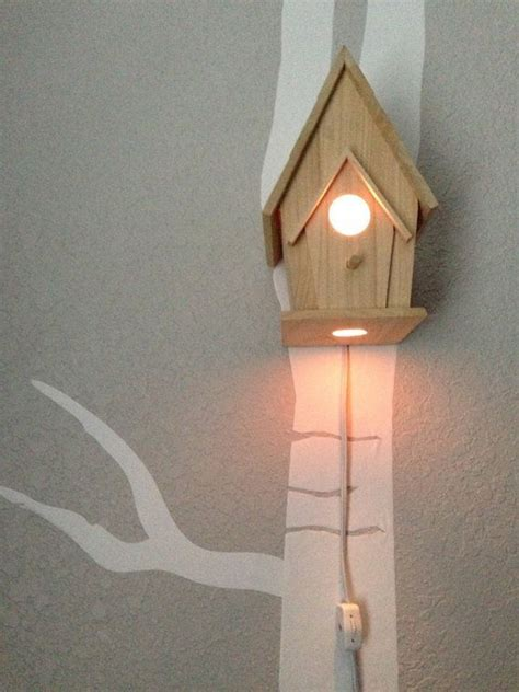 woodland nursery light fixture bird house night light woodland nursery by