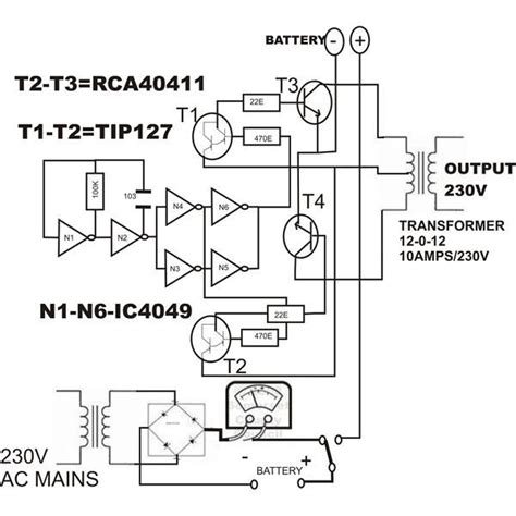 wiring diagram inverter welder k