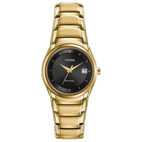 citizen gold plated eco drive