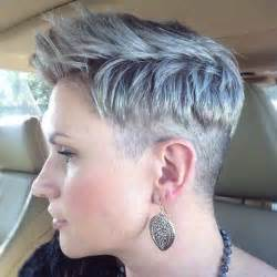 pixie haircut with a clipper pixie cut with a clipper cut edge sides and nape buzzed