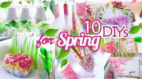 spring diys 10 diy room decor and desk organization ideas for spring