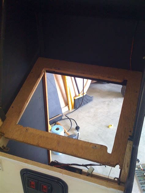 building a mame cabinet arcade cabinet lcd bezel cabinets matttroy