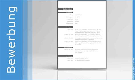 Lebenslauf Muster Interne Bewerbung Initiativbewerbung Vorlage In Word Zum Herunterladen